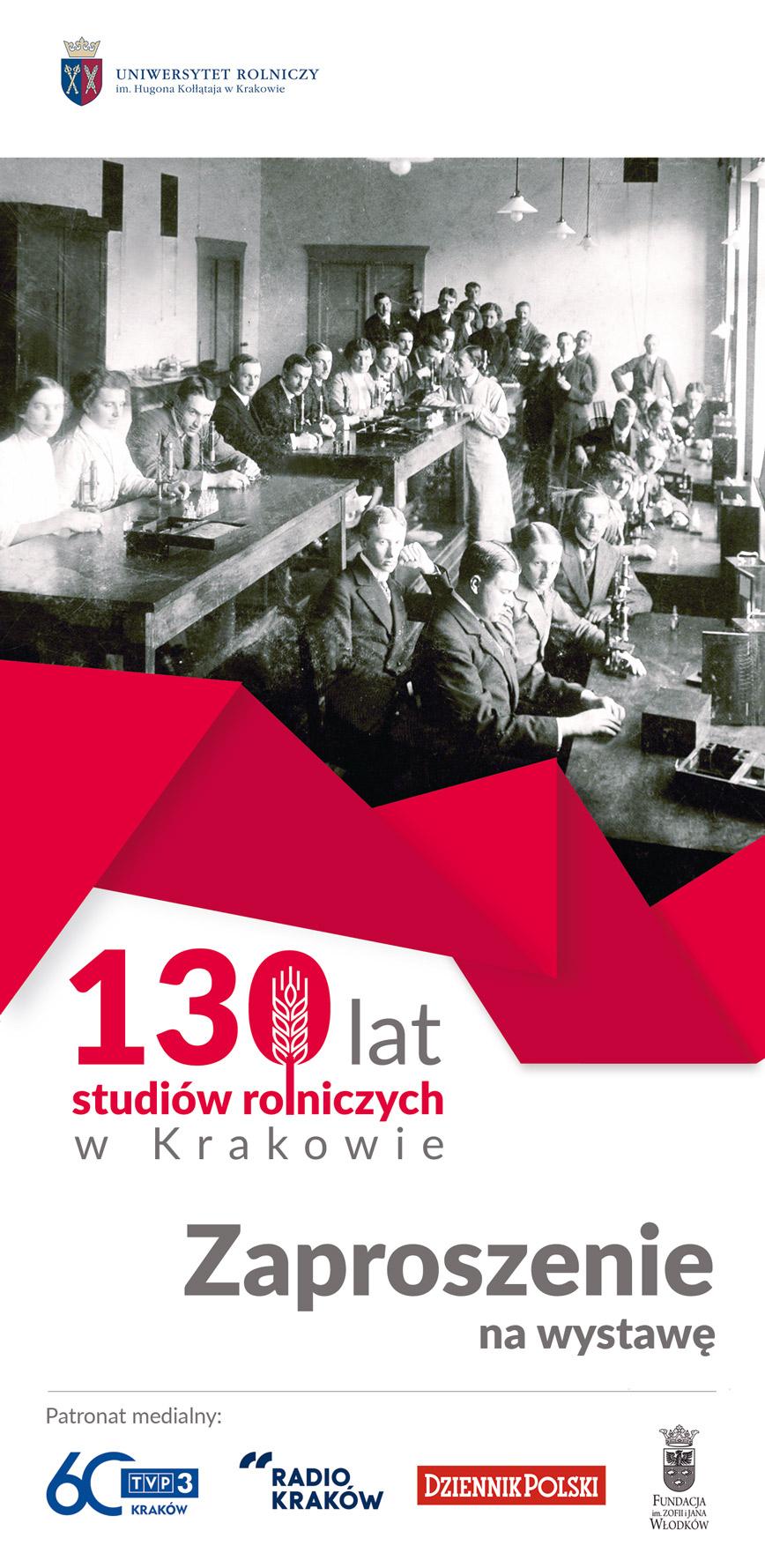 130 lat nauk rolniczych w Krakowie
